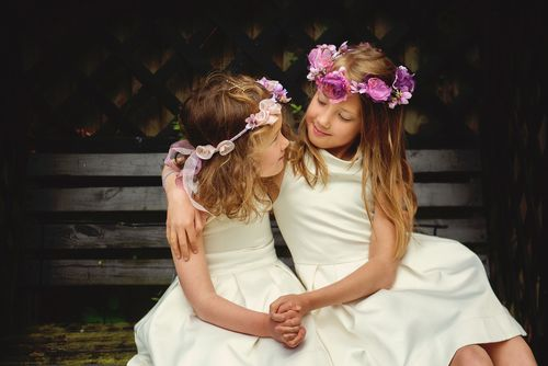 flower girl headwear
