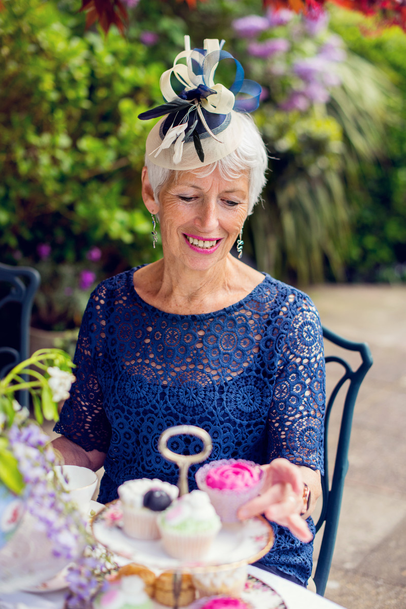 mother of the bride fascinator