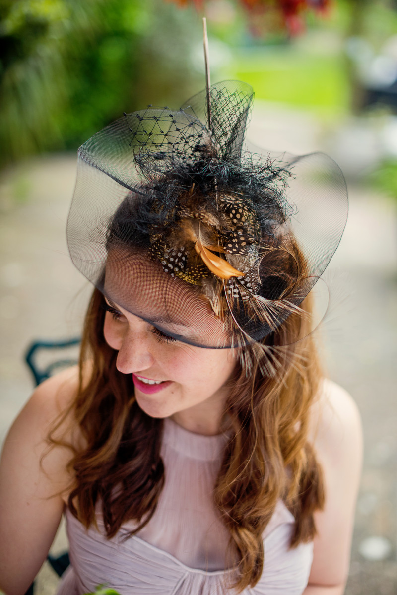 mother of the bride fascinator hat