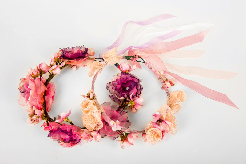 garlands for flower girls