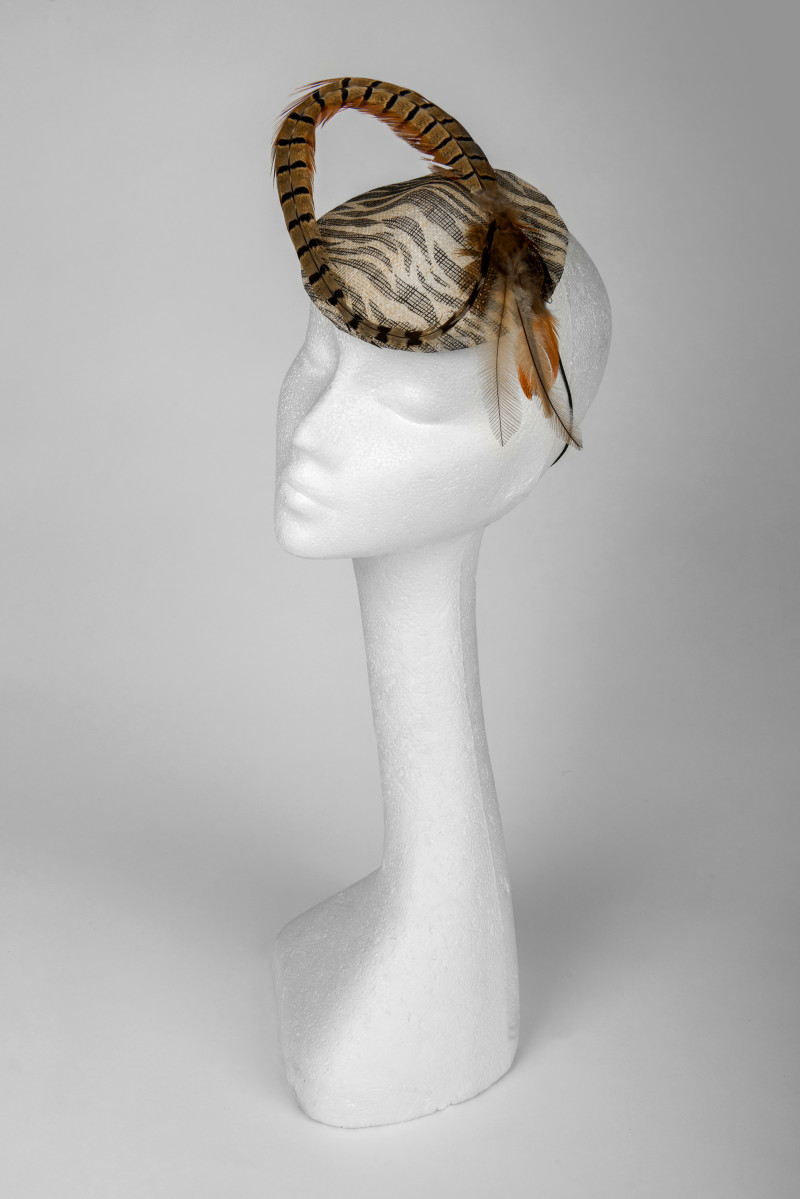 pheasant feather fascinator