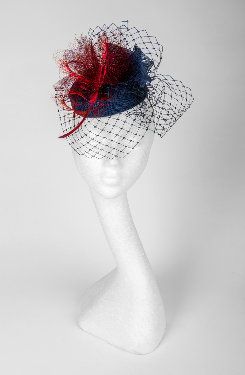 vintage style pillbox hat