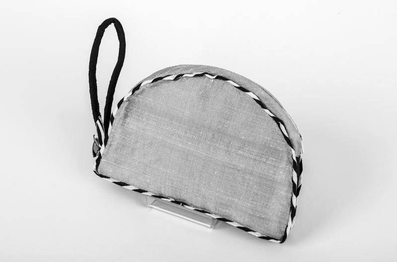 silver art nouveau clutch bag