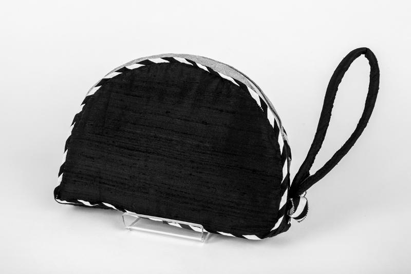 black art nouveau clutch